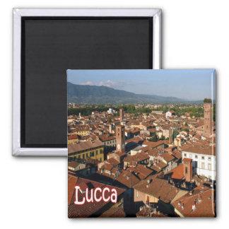 ELE - Italia - Lucca Ímã Quadrado