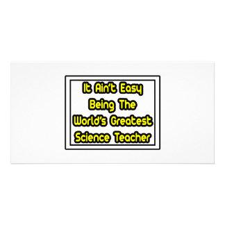 Ele professor de ciências… do mundo fácil de Aint  Cartoes Com Fotos Personalizados