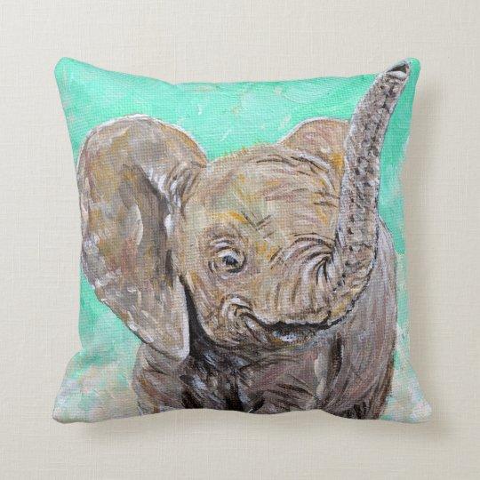 Elefante do bebê almofada