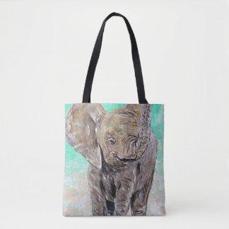 Elefante do bebê bolsas tote