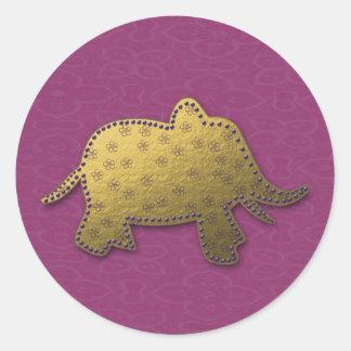 elefante do ouro adesivo