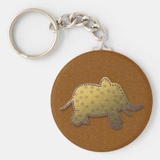 elefante do ouro chaveiro