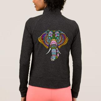 Elefante Jeweled, jaqueta da prática