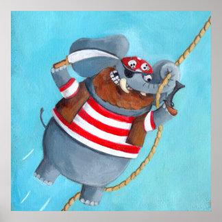 Elefante - o melhor animal do pirata