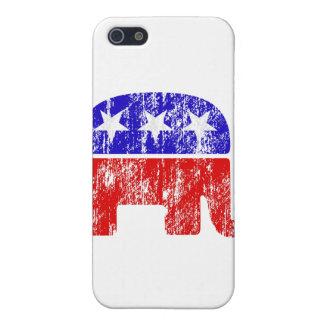 Elefante republicano desvanecido capa iPhone 5