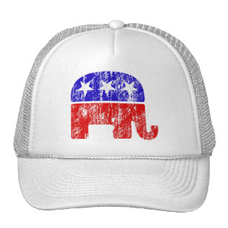 Elefante republicano desvanecido boné