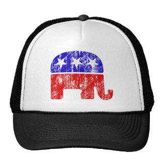 Elefante republicano desvanecido bones