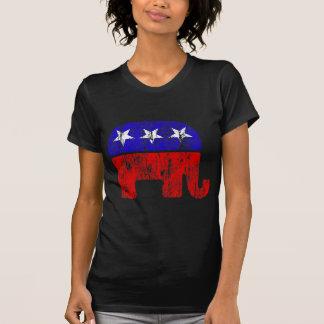 Elefante republicano desvanecido tshirt
