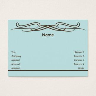 Elegante - carnudo cartão de visitas