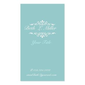 Elegante profissional artístico clássico moderno cartões de visita