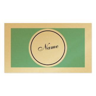 Elegante retro cartão de visita