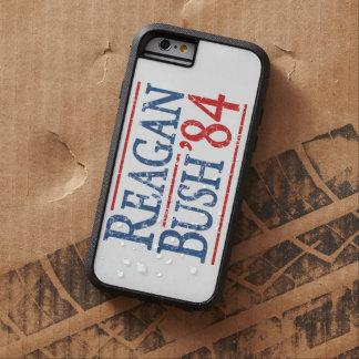 Eleição retro de Bush Reagan 84 Capa Tough Xtreme Para iPhone 6