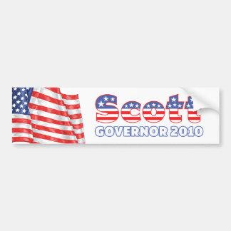 Eleições patrióticas da bandeira americana 2010 de adesivo para carro