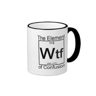 Elemento WTF Caneca Com Contorno