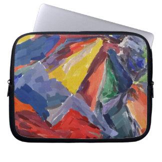 Eletrônicos abstratos capa para laptop