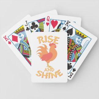 Elevação e brilho baralho para poker