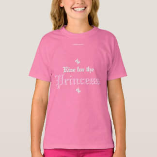 Elevação para a princesa camiseta