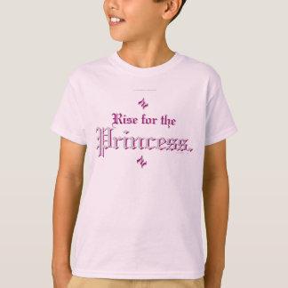 Elevação para a princesa tshirt