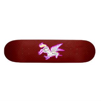 Elevando o anjo-da-guarda do unicórnio shape de skate 20cm