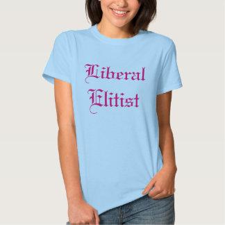 Elitista liberal tshirts