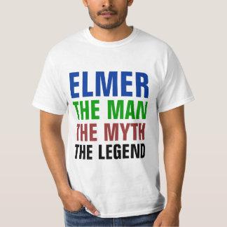 Elmer o homem, o mito, a legenda t-shirt
