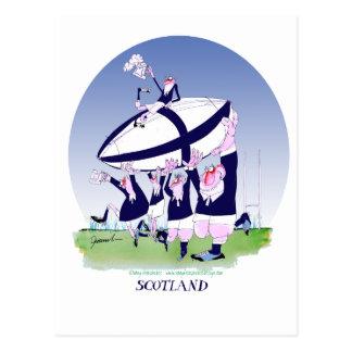 elogios escoceses do rugby, fernandes tony cartão postal