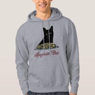 Eloquência do gato de Spagehetti Moleton Com Capuz