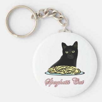 Eloquência do gato dos espaguetes chaveiro