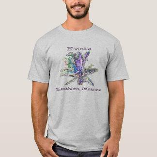 Elvina em Eleutéria Bahamas II Camiseta