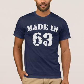 Em 1963 camisa feita