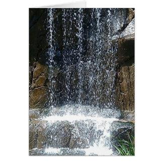 Em-Cachoeira Cartão Comemorativo