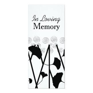 "Em cerimonia comemorativa Loving da Convite 10.16"" X 23.49cm"