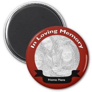 Em ímã Loving da memória Ímã Redondo 5.08cm