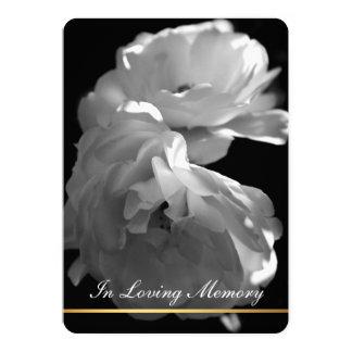 Em memória Loving - cerimonia comemorativa fúnebre Convite 12.7 X 17.78cm