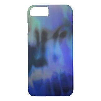 Embaçamento, capas de iphone abstratas do azul