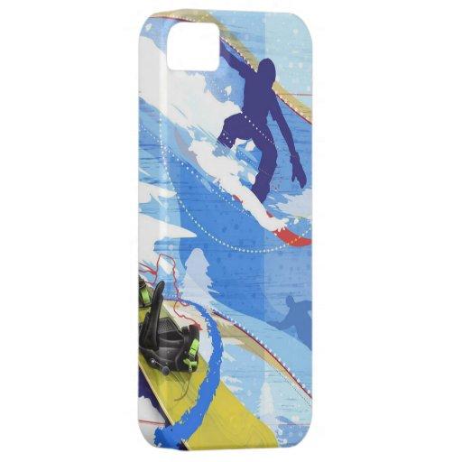 Embarque da neve capas iPhone 5