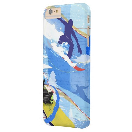 Embarque da neve capa iPhone 6 plus barely there