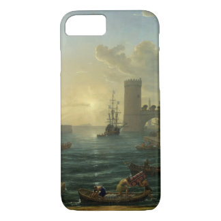 Embarque da rainha de Sheba - Claude Lorrain Capa iPhone 8/7