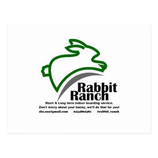 Embarque do rancho do coelho cartão postal