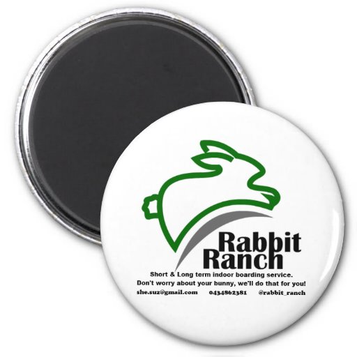 Embarque do rancho do coelho imã