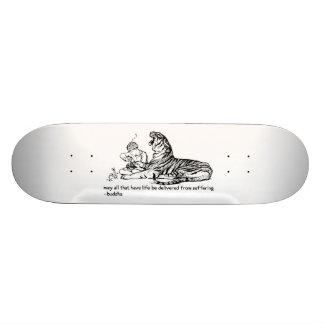 Embarque do tigre shape de skate 20,6cm