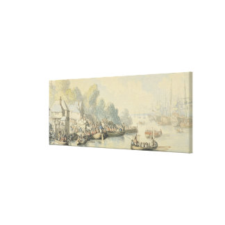 Embarque em Southampton o 20 de junho após o senho Impressão De Canvas Esticadas