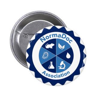 Emblema 5,2 cm - NormaDoc associação Bóton Redondo 5.08cm