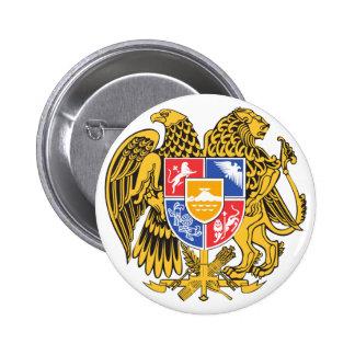emblema de Arménia Bóton Redondo 5.08cm