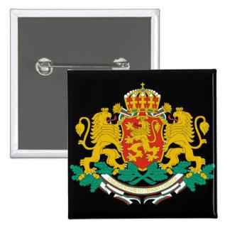 emblema de Bulgária Bóton Quadrado 5.08cm