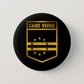 Emblema de Cabo Verde Bóton Redondo 5.08cm