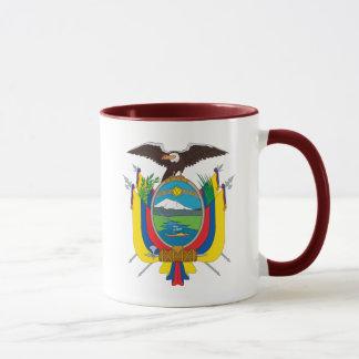 emblema de Equador Caneca