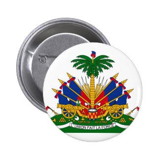 emblema de haiti bóton redondo 5.08cm