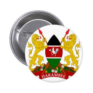 emblema de kenya bóton redondo 5.08cm