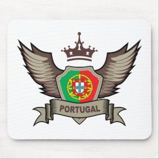 Emblema de Portugal Mouse Pad